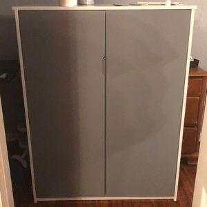 White/Grey Wardrobe or Storage